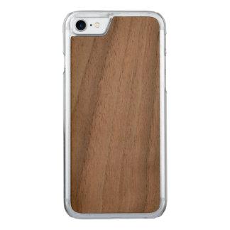 切り分けられたiPhone 7の細い場合のクルミ Carved iPhone 8/7 ケース