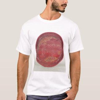 切り分けられるラッカー皿 Tシャツ
