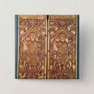 切り分けられる領事の二部作Anastasius 5.1cm 正方形バッジ