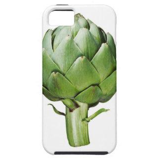 切り取られる白い背景の地球アーティチョーク iPhone SE/5/5s ケース