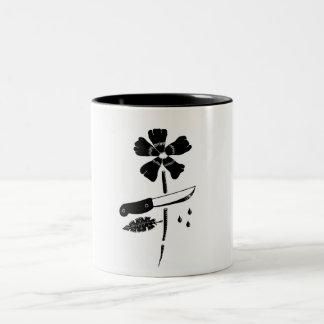切り花 ツートーンマグカップ