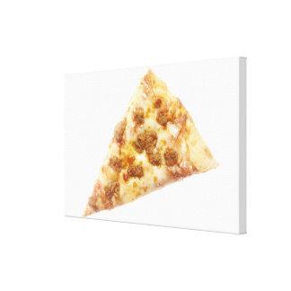 切れのピザ キャンバスプリント