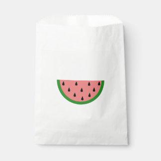 切れのピンクのスイカ フェイバーバッグ