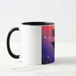 切れの地球 マグカップ