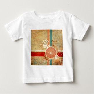 切れの柑橘類の抽象芸術 ベビーTシャツ