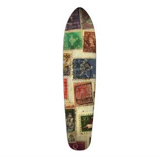 切手のコレクションのスケートボード スケートボード