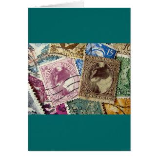 切手ルーシー グリーティングカード