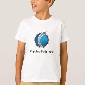 切抜き道インド Tシャツ