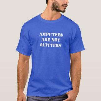 切断患者は憶病者ではないです Tシャツ