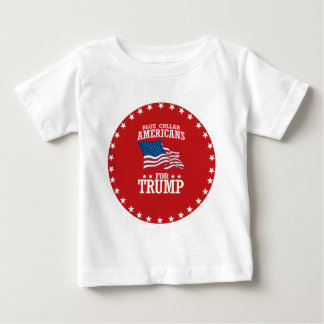 切札のためのブルーカラーのアメリカ人 ベビーTシャツ