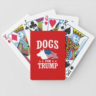 切札のための犬 バイスクルトランプ