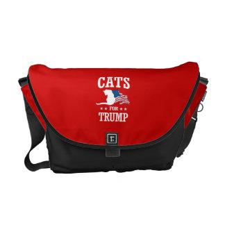 切札のための猫 メッセンジャーバッグ