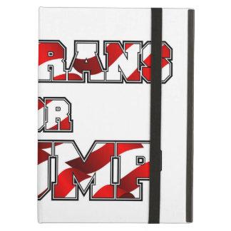 切札のためのPRES45 VETARANS iPad AIRケース