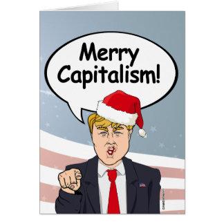 切札のクリスマスカード-メリーな資本主義- カード