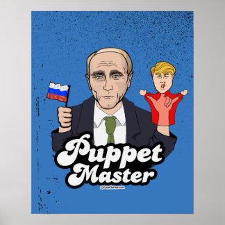 切札のパペットマスター-ウラジーミル・プーチン ポスター