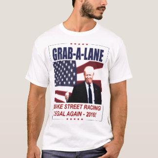 切札のパロディ- STREETRACINGを法的に再度作って下さい! Tシャツ