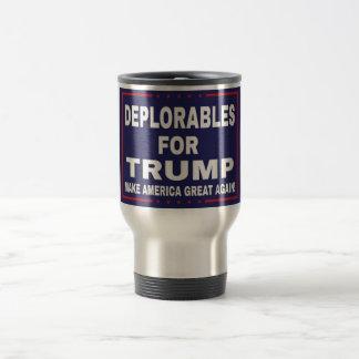 切札のマグのためのDeplorables トラベルマグ