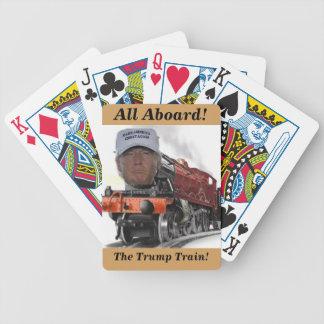 切札の列車の演劇カードのすべて バイスクルトランプ