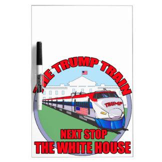 切札の列車 ホワイトボード
