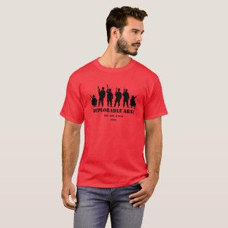 切札の嘆かわしい軍隊のワイシャツ Tシャツ