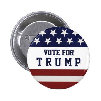 切札の大統領選挙2016年のための投票 5.7CM 丸型バッジ