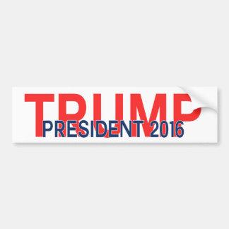 切札の大統領2016年 バンパーステッカー