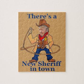 切札の新しい保安官 ジグソーパズル