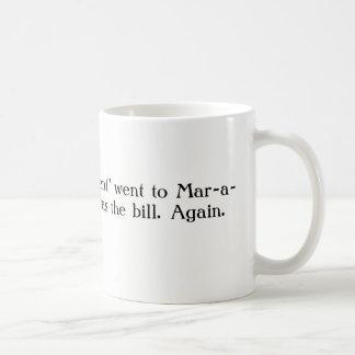 切札の3月Lagoのマグ コーヒーマグカップ