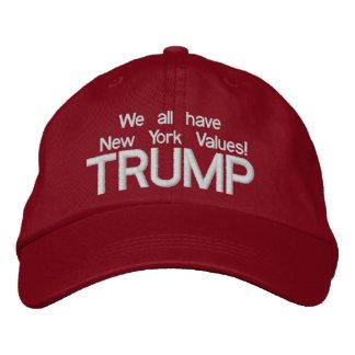 切札ニューヨークは2016年の野球帽を評価します 刺繍入り野球キャップ