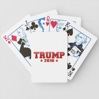 切札2016の赤の選挙の版 バイスクルトランプ