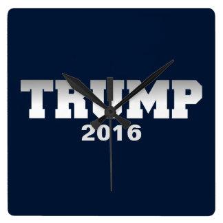 切札2016年 スクエア壁時計