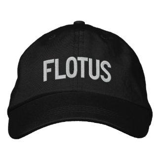 切札2020 FLOTUSのデザイン 刺繍入りキャップ