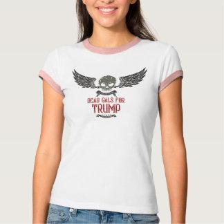 切札、混合物の信号器のTシャツのための死んだGals Tシャツ