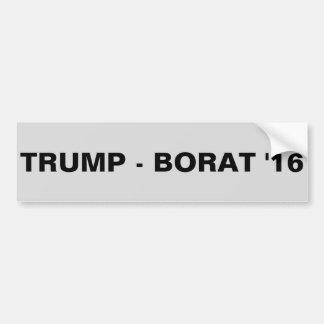 切札- BORAT 「16 バンパーステッカー