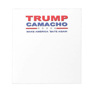 切札Camacho -アメリカを「再度減じさせます ノートパッド