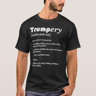切札ery Defin。 政治風刺の暗いTシャツ#4 Tシャツ