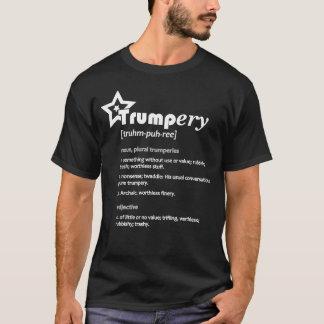 切札ery Defin。 政治風刺の暗いTシャツ#4D Tシャツ