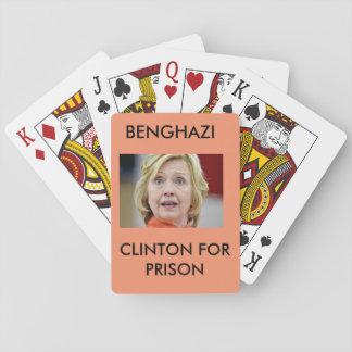 刑務所のためのベンガジクリントン トランプ