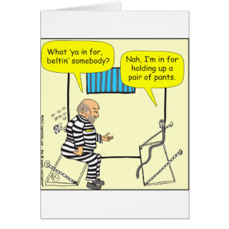 刑務所の漫画の316ベルト カード