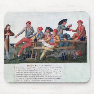 刑務所の裁判所の1792年9月2日及び3日、 マウスパッド