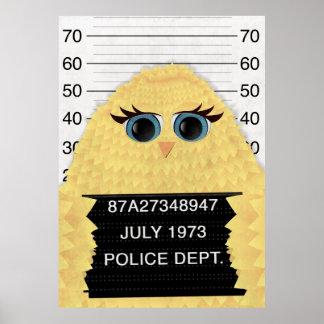 刑務所の鳥 ポスター