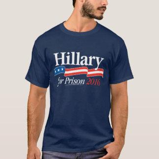刑務所の2016年のTシャツのためのヒラリー Tシャツ