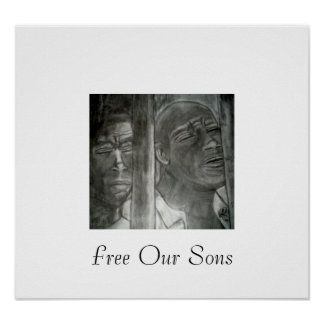 刑務所は、私達の息子ポスターを放します ポスター