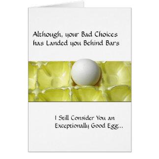 刑務所カード-よい卵 カード