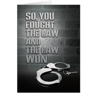 刑務所カード-勝たれる法律 カード