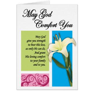 刑務所カード-神の心地よい カード