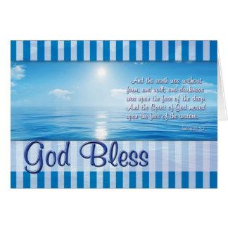 刑務所カード-神は賛美します カード