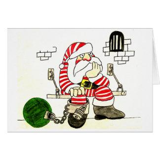 刑務所サンタ カード