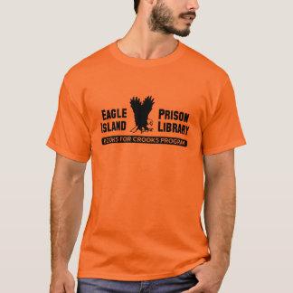 刑務所図書館 Tシャツ