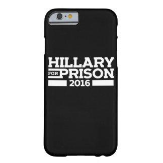 刑務所2016年のためのヒラリー BARELY THERE iPhone 6 ケース